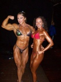 Girl with muscle - Yaxeni Oriquen (L)