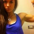 Girl with muscle - Svenja Grossmann