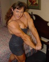 Girl with muscle - Christine Envall