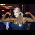Girl with muscle - Kaylee Flanagan
