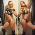 Girl with muscle - Lauren Drain Kagan