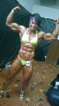 Girl with muscle - Luziene Lobo