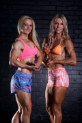Girl with muscle - Fimka Hampson (L) Helen Longmuir (R)