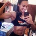 Girl with muscle - Michele Da Silva