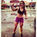 Girl with muscle - Sandra Hadith Alvarado