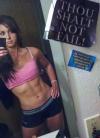 Girl with muscle - Leah Walczak