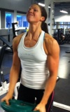 Girl with muscle - Martina