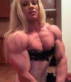 Girl with muscle - Kristyna Tomaschova