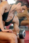 Girl with muscle - Liliane Bittmann