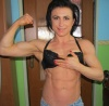 Girl with muscle - aneta