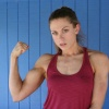 Girl with muscle - Roxy Rox