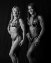 Girl with muscle - Natalie Janik  & Melanie Falvo