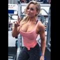 Girl with muscle - Stephanie Sanzo