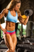 Girl with muscle - Tionna Kuhnhoff