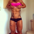 Girl with muscle - Mercedes Ciprut