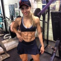 Girl with muscle - Lays Andrade