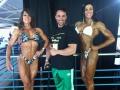 Girl with muscle - Marta Del Amo Jimenez (L) - Ethel Heredia Appa (R)