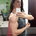 Girl with muscle - Tita Chris