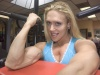 Girl with muscle - Colette Nelson