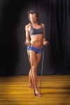 Girl with muscle - Jenn Christainsen