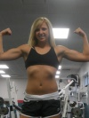 Girl with muscle - mandy