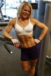 Girl with muscle - Charla Davenport