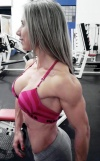Girl with muscle - Wagna Vargas