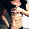 Girl with muscle - Karina Germano