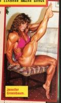 Girl with muscle - Jennifer Greenbaum