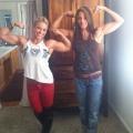 Girl with muscle - jordyn getz