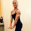 Girl with muscle - tabitha