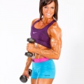 Girl with muscle - Melissa Lesage