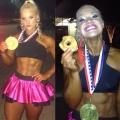 Girl with muscle - Lauranda Nall