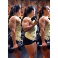 Girl with muscle - Nadia Amy