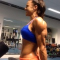 Girl with muscle - Tamika Webber