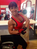 Girl with muscle - Isabel Serna