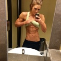 Girl with muscle - Allison Cote