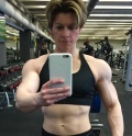 Girl with muscle - nathalie foreau