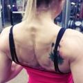 Girl with muscle - Bojana Vasiljevic Obradovic