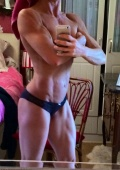 Girl with muscle - veronique rees