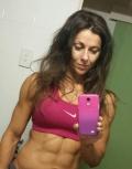 Girl with muscle - belinda