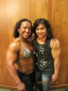 Girl with muscle - Jennifer Tejada  , Hazel Piazza