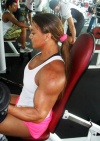 Girl with muscle - Jamila Boaventura