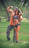 Girl with muscle - Oksana Artiomova