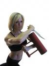 Girl with muscle - Gennifer Conn Strobo