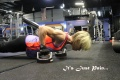 Girl with muscle - Linda Barr Buchert