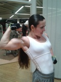 Girl with muscle - Guluzar Tufenk