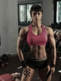 Girl with muscle - Deepika Chowdhury