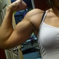 Girl with muscle - Michelle Litzenberger