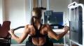 Girl with muscle - Helga Stibi